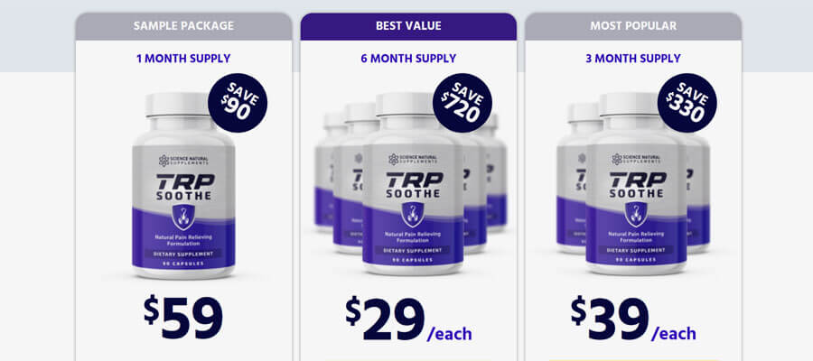 TRP Soothe Reviews and claim now